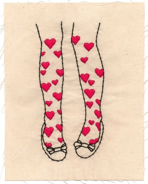 Novelty Tights | Sublime Stitching | We Heart It (141019)