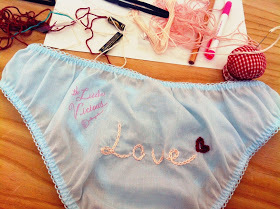 "♡Cynthia♡: the Little Vicious Workshop ""Embroidery pantie""salon 