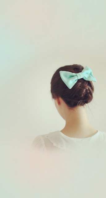 mint ribbon | We Heart It (147767)