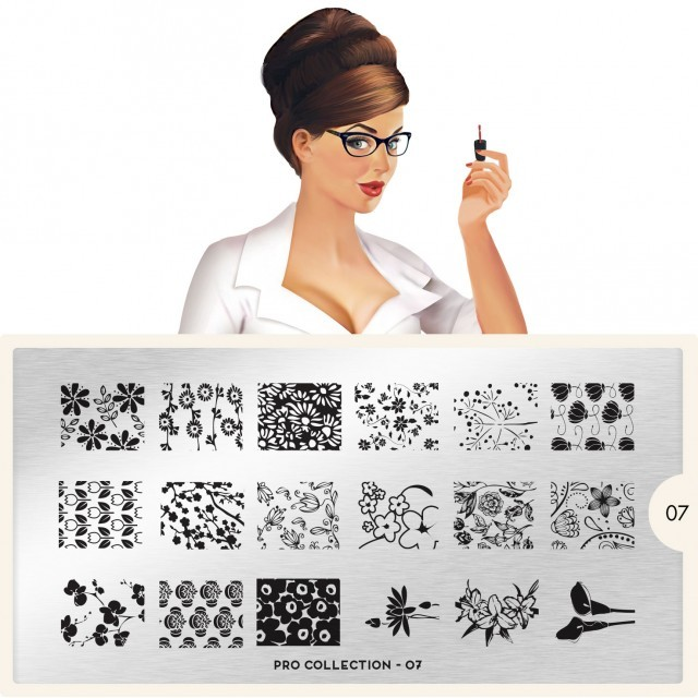 moyou Nail Art design Image Plates-pro collection (150494)