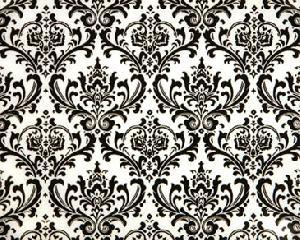 モモミュゼットのブログ | ダマスク柄ホワイト&ブラックが入荷しました (151852)