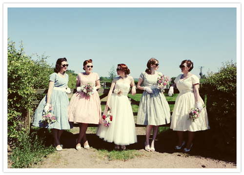Vintage inspired picnic wedding: Sophie + Gareth | Real Weddings | 100 Layer Cake | We Heart It (161876)