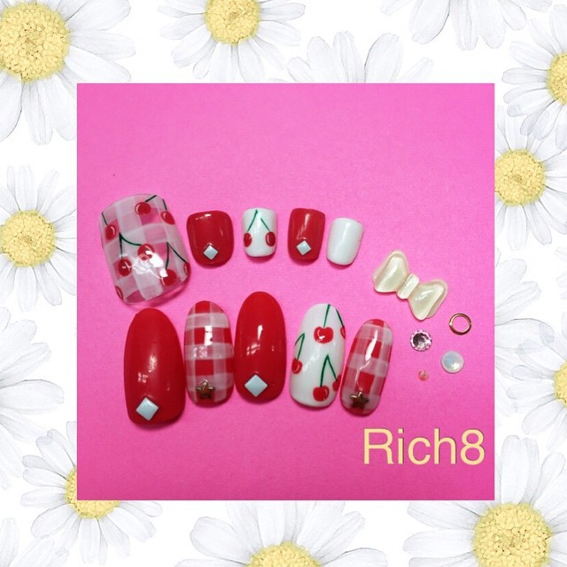 Instagram photo by @rich8.official (Rich8(リッチエイト)ネイル&エクステ原宿店) | Iconosquare (167449)