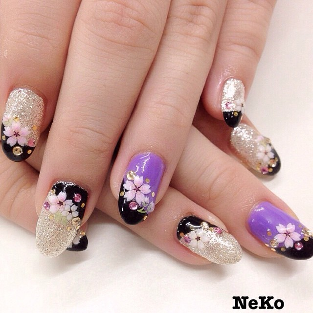 Instagram photo by @nailsalon_neko (ネイルサロンNeko) | Iconosquare (169263)