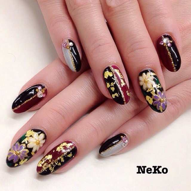 Instagram photo by @nailsalon_neko (ネイルサロンNeko) | Iconosquare (169264)