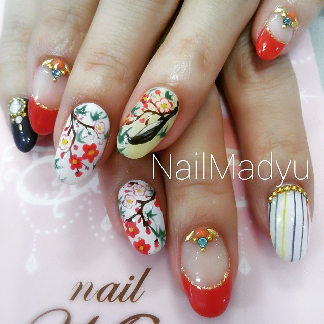 Instagram photo by @nailmadyu (♥大阪南船場ネイルマデュ♥) | Iconosquare (169289)