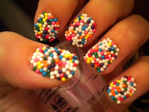 Gallery For > Katy Perry Sprinkle Nails (170485)