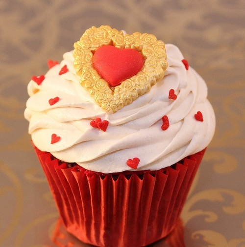 heart cupcake | We Heart It (171513)