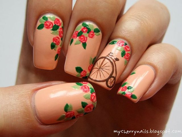 Cherry Nails #nail #nails #nailart | Nail collection | Pinterest (174751)