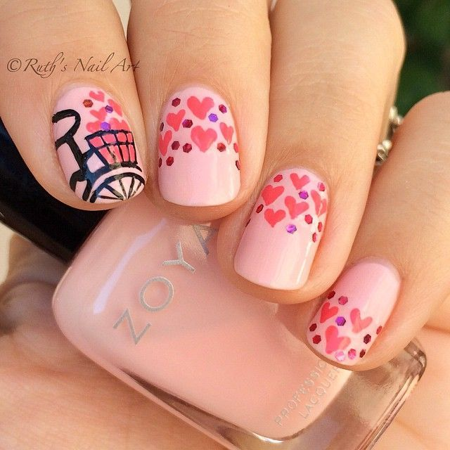 Valentine's Day Nails #ruthsnailart #nailart | #      Nails       # | Pinterest (174752)