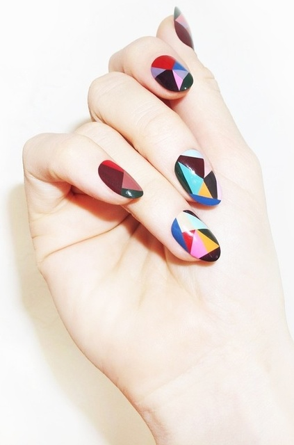 Pinterest Found: Nail Art for the Music Festival Fanatic - SELF (177626)