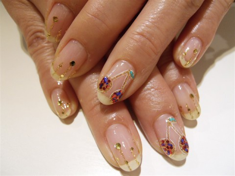 さくらんぼネイル | Little Happiness Nail Gallery (194462)