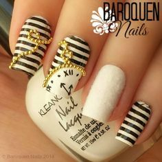 Nailpolis Museum of Nail Art | The White Rabbit by BaroquenNails | love nails | Pinterest (195645)
