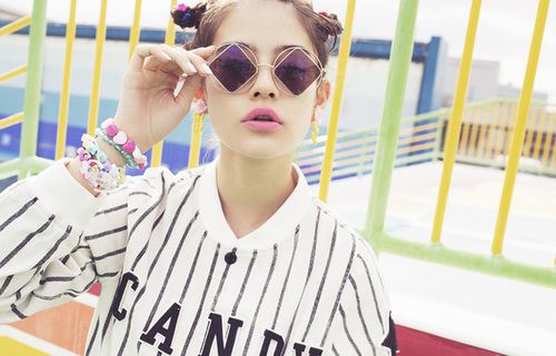 Candy Stripper 2014 Spring Collection LOVE&POP | We Heart It (201462)