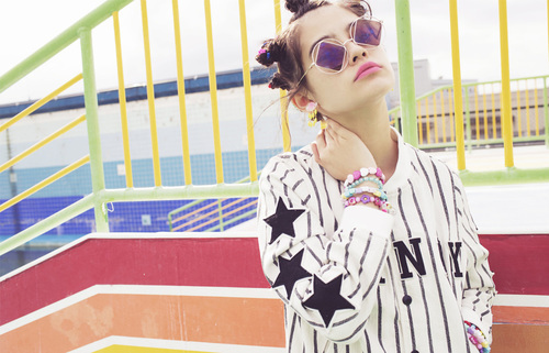 Candy Stripper 2014 Spring Collection LOVE&POP | We Heart It (201482)