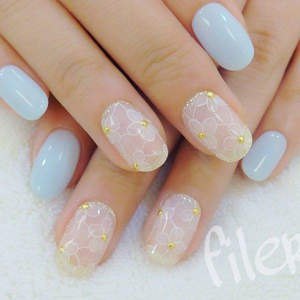 40 Ideas for Wedding Nail Designs (204063)