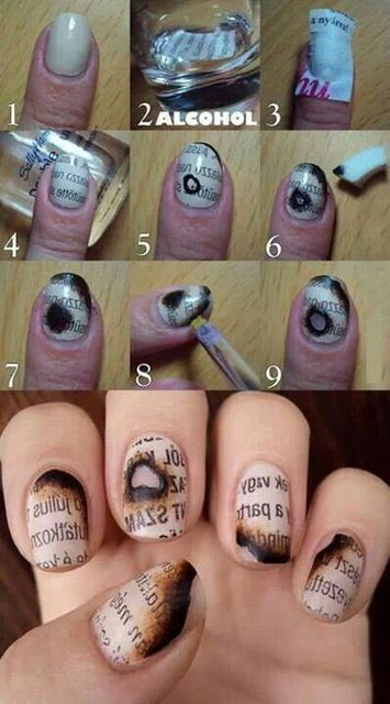 15 Useful and Beautiful Nail Tutorials You Must Have   Pretty Designs (204104)