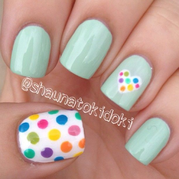 Instagram photo by shaunatokidoki #nail #nails #nailart | See more at http://www.nailsss.com/colorful-nail-designs/3/ | Nails Pretty ネイル | Pinterest (204260)