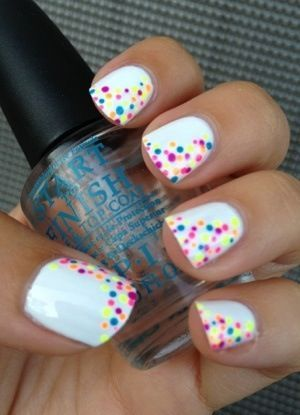 These nails are cute and you can change the color so you can wear these nails all year round find more women fashion ideas on www.misspool.com   Pinterest (204264)