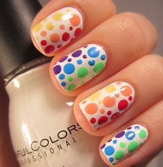 Fun Multicolored Nail Designs For The Summer (204266)