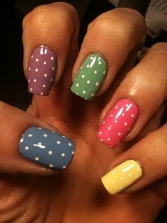 Polka dot #Nails #STORETS #Inspiration | ネイル | Pinterest (204272)