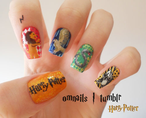 Harry Potter Nail art - Snape's Family and Friends Fan Art (30737872) - Fanpop (205774)