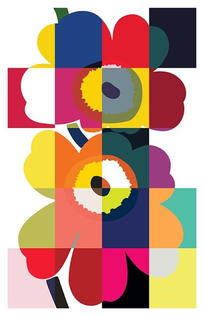 Marimekko takes a stand on power of expression with an Unikko pattern place in Milan during design week. Find us at Spazio Rossana Orlandi, Via Mat…   Pinterest (208460)