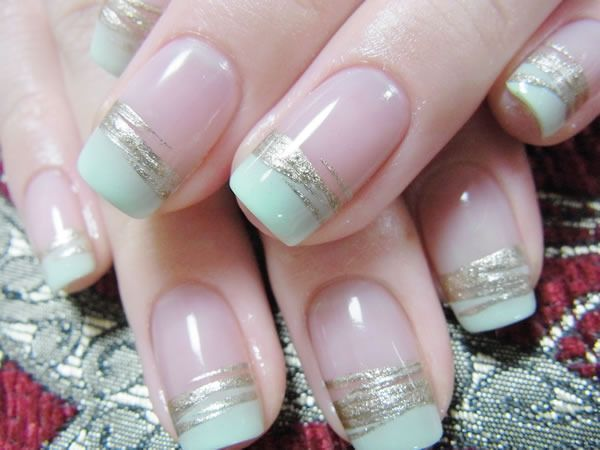 I'm not a fan of the weird manicures that are popular these days but I think I like these. | Nail | Pinterest (212209)