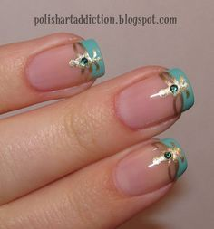Love these.. Would look cool in any color. Especially on toes! #shortnaildesigns, | ネイル | Pinterest (212229)