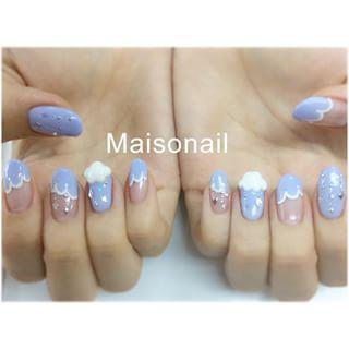 @maisonail - #nail #nailart #Naildesign #newNail #Newopen... - Enjoygram (214441)