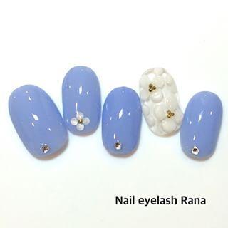 @nail_eyelash_rana - 紫陽花ネイル☆90分コース9500円!初回オフ無料&20%off!#nail#naila... - Enjoygram (214452)