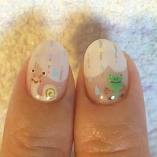 @nailist_marina - #nail #nailart #カエルネイル #カエル #梅雨ネイル #6月 #6月ネイル... - Enjoygram (214455)