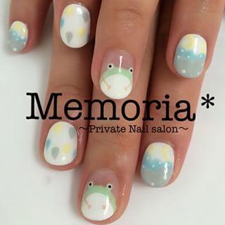 @memoria.nail - nail#nail #ネイル #ジェルネイル #中央林間 #中央林間ネイル... - Enjoygram (214467)