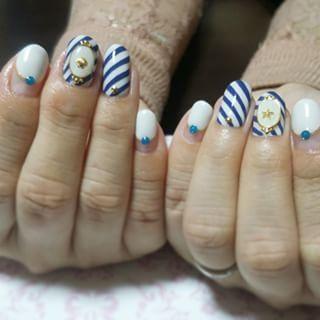 @mido_shio - #ネイル#nail#nails#ジェル#ジェルネイル#gelnail#gelnails#ネイル... - Enjoygram (214555)