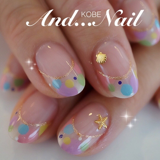 and_nailさんのネイル♪[1004797] | ネイルブック (214785)