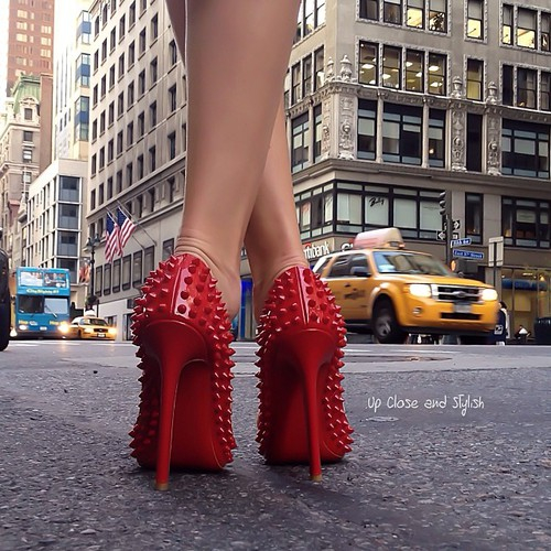 Red heels | We Heart It (217119)