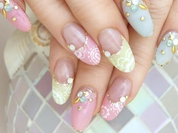 sherbet color | Nail | Pinterest (222636)