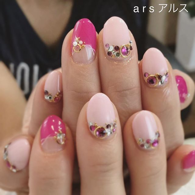 #ピンクネイル • Instagram photos and videos (236745)