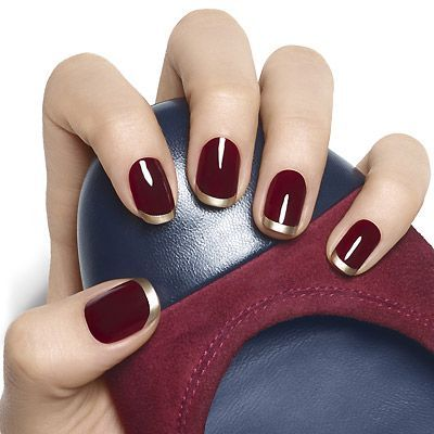 8 Elegant Thanksgiving Manicures - Fab Fatale (238249)