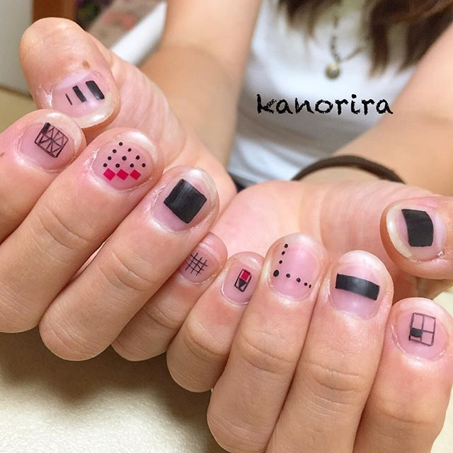 #モノトーンネイル • Instagram photos and videos (238497)