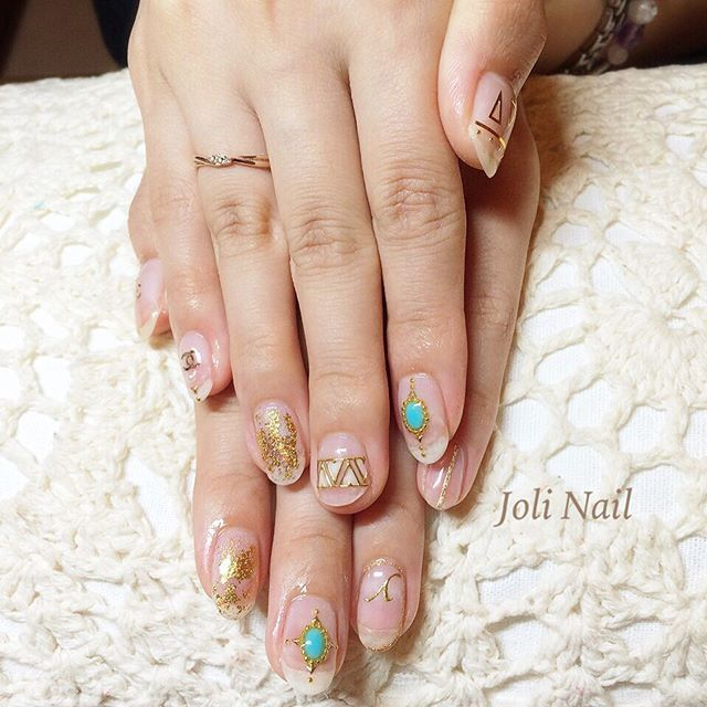 #イニシャルネイル • Instagram photos and videos (238970)