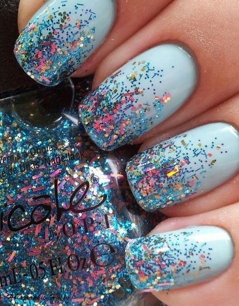 Colours nails | We Heart It (239532)
