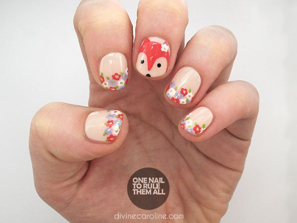 Playful Nail Art Tutorials To Copy This Spring - fashionsy.com (240344)