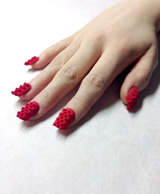 35 Cool 3D Nail Art - Hative (240854)