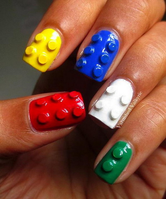 35 Cool 3D Nail Art - Hative (240855)