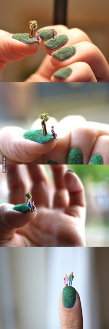 Awesome Fingernail Art - 9GAG (240863)