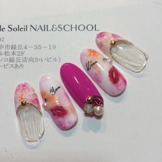 @salondesoleil0214 - #nail#gelnail#gel#ripnail#rip#sunshinebabe#ネイル#... - Pikore (242623)