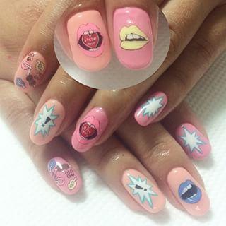@naild_o_g - #nail #nails #art #cute #colorful... - Pikore (242632)