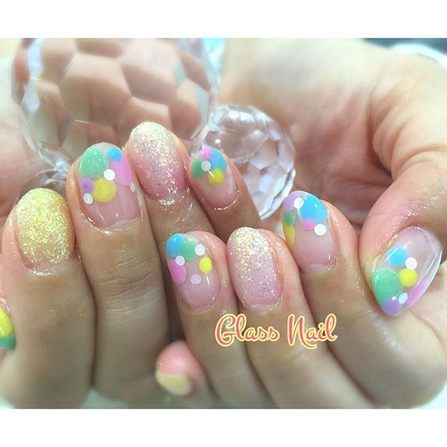 #ドットネイル • Instagram photos and videos (245180)
