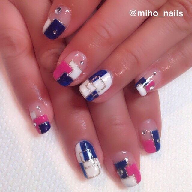 #ブロックネイル • Instagram photos and videos (250734)